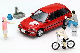 1/64 ジオコレ64 #カースナップ02a 洗車