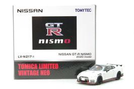 1/64 LV-N217a NISSAN GT-R NISMO 2020 model(白)
