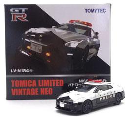 1/64 LV-N184a NISSAN GT-R パトカー栃木県警察