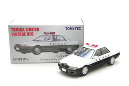 1/64 LV-N212a 日産スカイライン 4ドアスポーツセダン パトロールカー(茨城県警察)