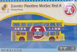 Daimler Fleetline MetSec Red A