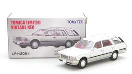 1/64 LV-N209a 日産セドリック ワゴン V20E SGLリミテッド(白/銀)