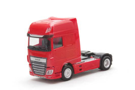 1/87 DAF XF Euro 6 SSC rigid tractor facelift, red