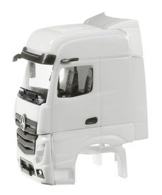 1/87 Driver's cab Mercedes-Benz Actros Bigspace  with side skirting  2 pcs.