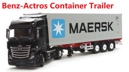 1/64 Mercedes-Benz Actos (Container Trailer)