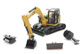 1/50 CAT 309CR Mini Hydraulic Excavator 【85592】