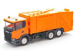 1/87 Scania CG 17 garbage truck, orange
