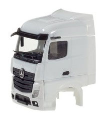1/87 Driver´s cabin Mercedes-Benz Actros Streamspace 2.5 with side blades : 2 pcs.