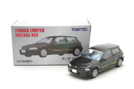 1/64 LV-N48g ホンダ シビックSi 20周年記念車(黒)