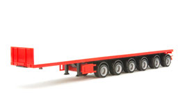 1/87 Nooteboom ballast trailer with 6 axle, red