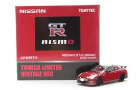 1/64 LV-N217b NISSAN GT-R NISMO 2020model(赤)