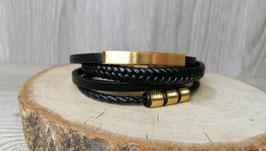 Herren ,,Elegant'' Leder Armband