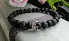 Perlen Kronen Armband für Pärchen