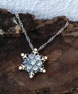 Schneeflocken Halskette