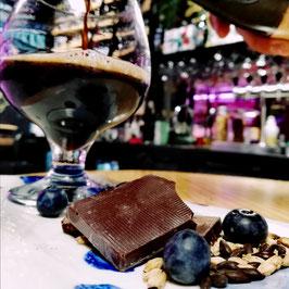 Maridaje de cerveza con chocolates orgánicos ecuatorianos de cacao biodinámico PACARI*