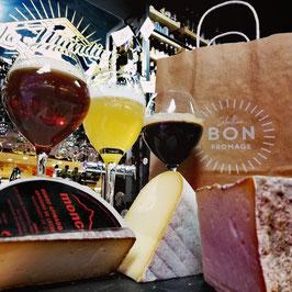 Maridaje de cerveza con grandes quesos españoles de oveja