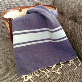Grande fouta carrée serviette de plage