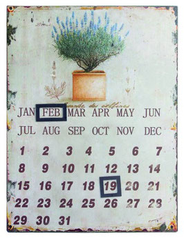 Lavendel - Wandkalender