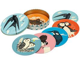 Birds - Untersetzer Set