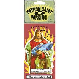 Patron Saint Of Parking - Car Air Freshener