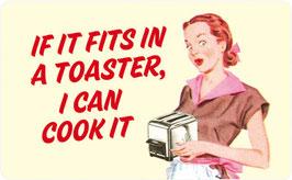 If It Fits In A Toaster - Frühstücksbrettchen