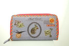 Hase - Geldbörse mit Zipper