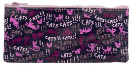 Cats! - Federtasche / Kosmetiktasche