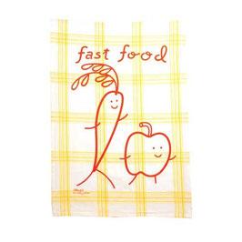Fast Food - Geschirrtuch