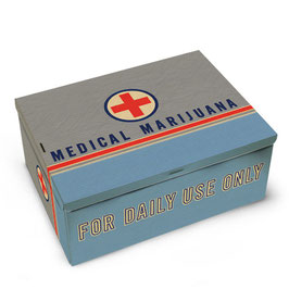 Medical Marijuana - Cigar Box