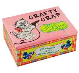Crafty Crap - Cigar Box