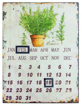 Rosmarin - Wandkalender