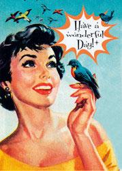 Have A Wonderful Day! - Postkarte