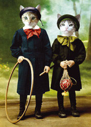 Tim & Tom- Postkarte