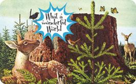 What A Wonderful World! - Frühstücksbrettchen