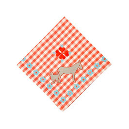 Donkey Red - Serviette