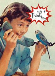 Thank You - Postkarte