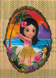 Liddle Leilani - Postkarte