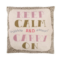 Keep Calm And Carry On - Kissen