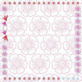 Mina rosa - Tischdecke