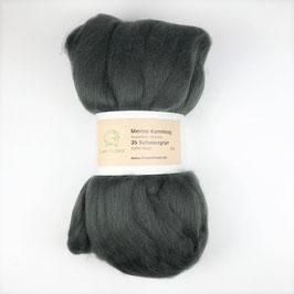 35 Schwarzgrün Merino 19.5mic