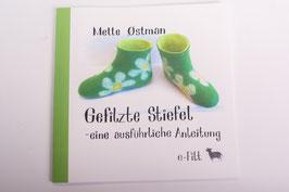 Buch: Gefilzte Stiefel - eine ausführliche Anleitung