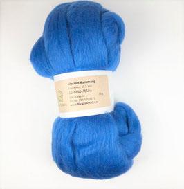 12 Mittelblau Merino 19.5mic