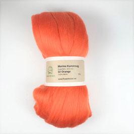 22 Orange Merino 19.5mic