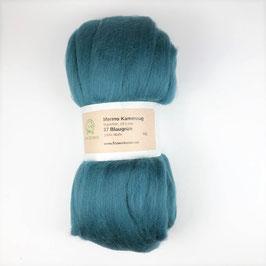 37 Blaugrün Merino 19.5mic
