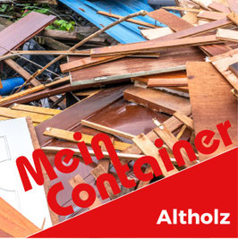 Altholz-Container 7 m³