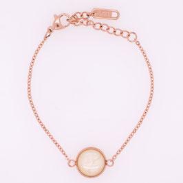 Armketten - Ø 10mm - rosévergoldete Fassung