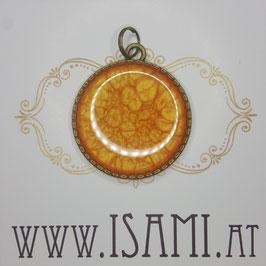 anhänger- baum des lebens - orange