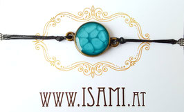 armband - klein - meeresblau