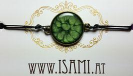 armband - groß - dunkelgrün