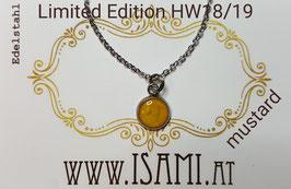 HW18/19 - Halskette - Ø 8mm - Edelstahl Fassung